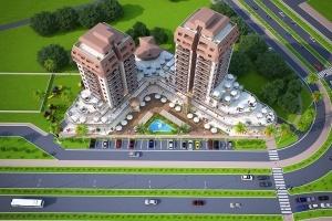 Angel Towers Residence Vaziyet Planı